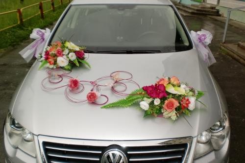 Цветы на машину делать