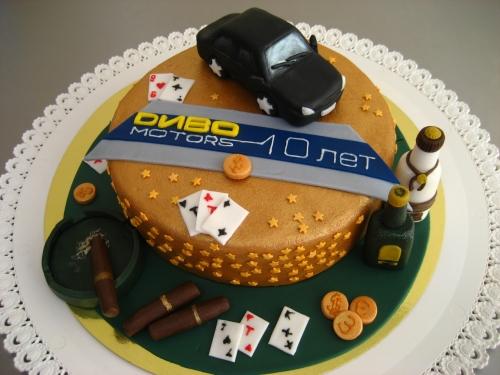 Торт корпоративный детский фото