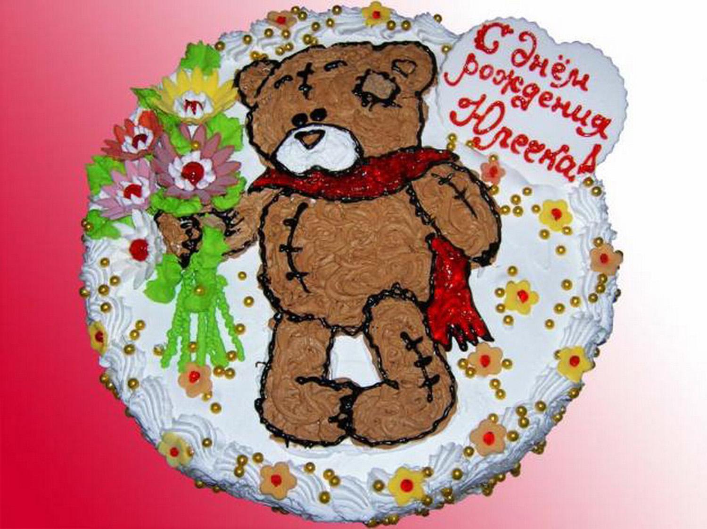 Детский торт, торт для детей, торт на детский день рождения.