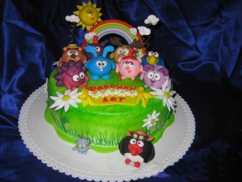 заказные детские торты фото