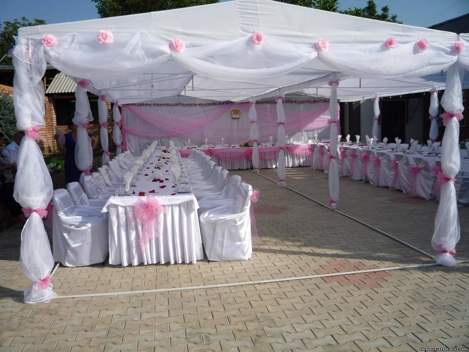 Как самим сделать шатер на свадьбу своими руками